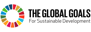 The Global Goal Horizontal color logo
